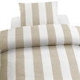 2-Dels Set Block Stripe Beige